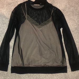 Zara layered top